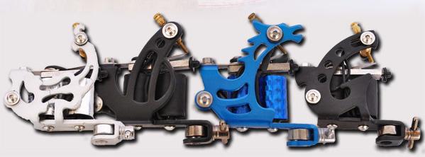 GRINDER CLASSIC - 4 Gun Tattoo Starter Kit