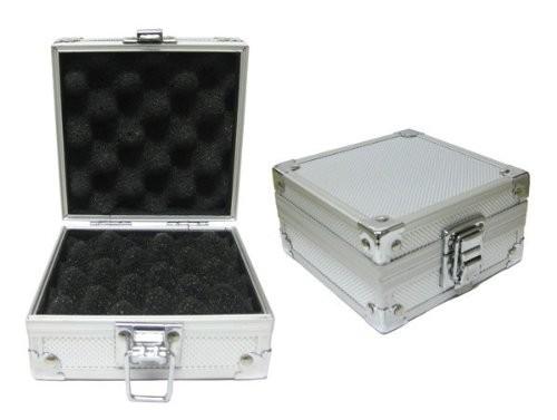 Aluminum Silver Tattoo Machine Box - Holds 1 Tattoo Machine