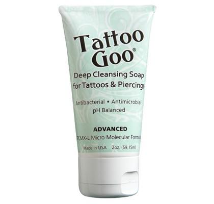 Tattoo Goo Deep Cleansing Soap for Tattoos & Piercings - 2 oz