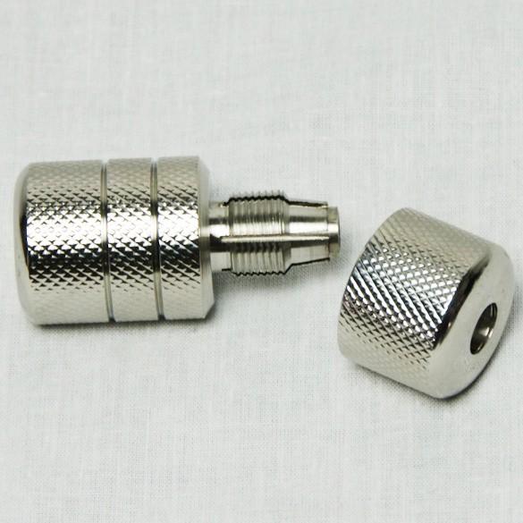 EZ Auto Lock Tattoo Grip - Hand Tighten - Stainless Steel  25mm SG2