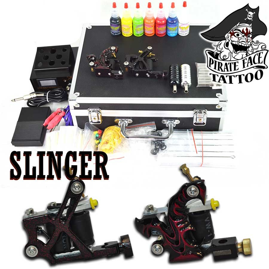 SLINGER BASIC - 2 Gun Tattoo Starter Kit