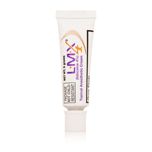 l m x 4 topical anesthetic cream tattoo skin numb pain