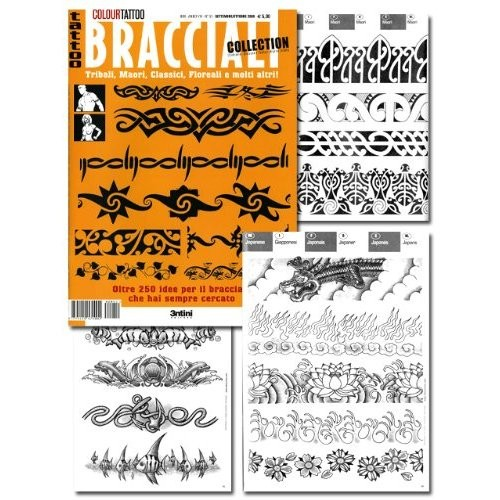 Tattoo Bracciali Armband Flash Book