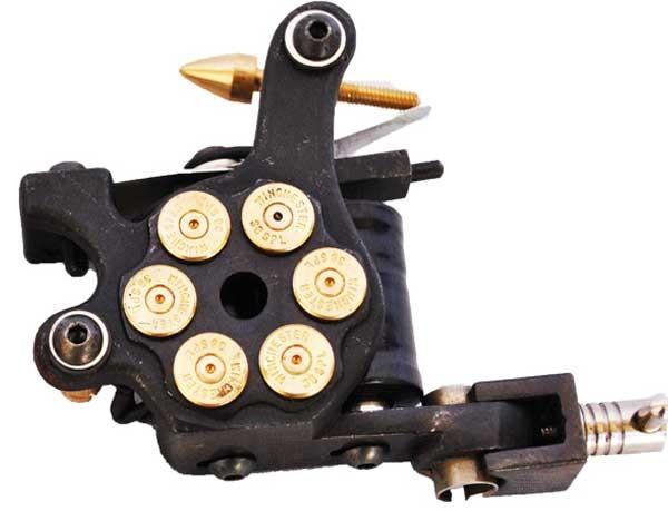 Cast Iron Tattoo Machine Magnum Bullet Shader Machine (H5-2)