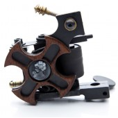 Old Maiden Cast Iron Liner Tattoo Machine (M1102257-1)