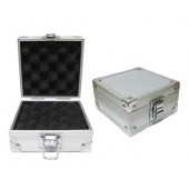 Aluminum Silver Tattoo Machine Box - Holds 1 Tattoo Machine