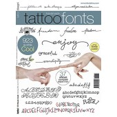 Tattoo Fonts - Flash Design Book 64-Pages