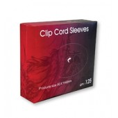 Clip Cord Sleeves 125 Sleeves / Box