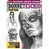 DONNE TESCHIO Skull Women Illustration Flash Book