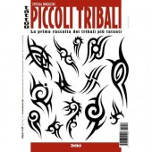 Tattoo Picocoli Tribal Illustration Flash Book