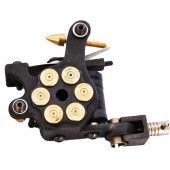 Cast Iron Tattoo Machine Magnum Bullet Shader Machine (H5-2)